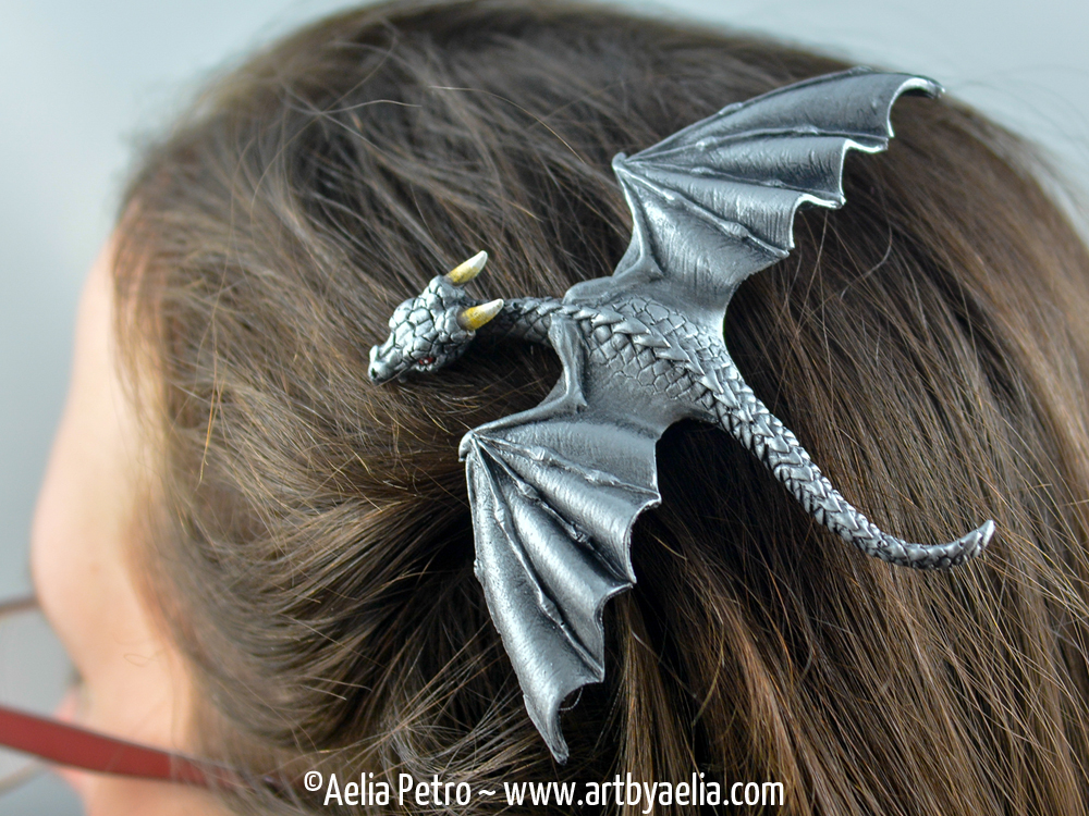 baby dragon barrette